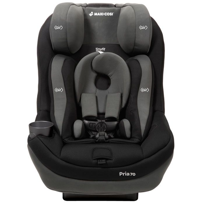 Maxi Cosi Pria 70 Convertible Car Seat with Tiny Fit - Total Black with FREE $50 Gift Certificate $289.99