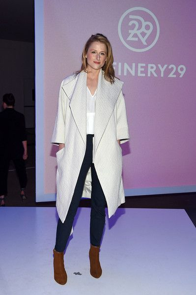 Mamie Gummer attends Refinery29 presents: Forever Forward at the 2015 Digital Content New Fronts on April 29, 2015 in New York City.
