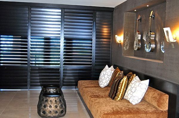 Would you like to give stunning view in your office ? Install #Coralwood Plantation #Shutters.