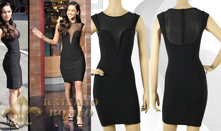 Herve Leger Style Sleek Megan Fox The Little Black Dress
