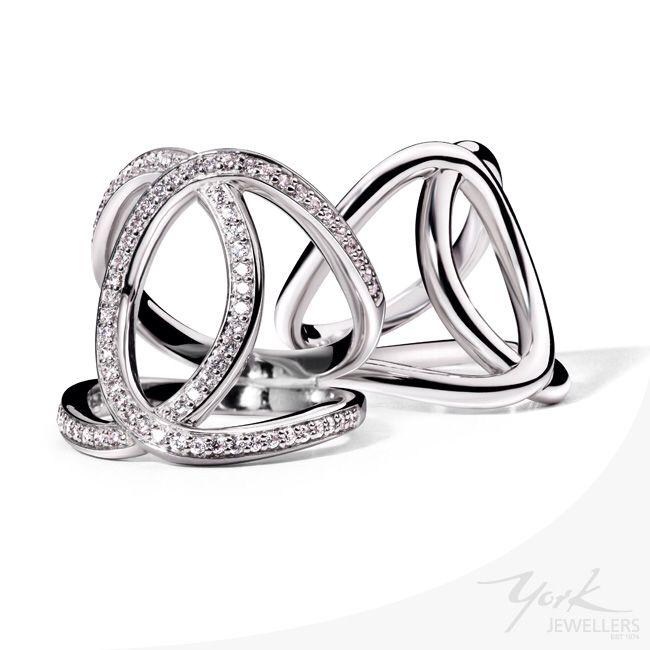 High shine or high sparkle? #tisento www.yorkjewellers.com.au