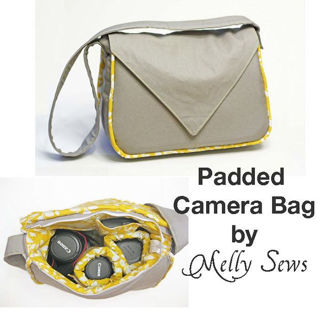 Padded Camera Bag Pattern / must make!