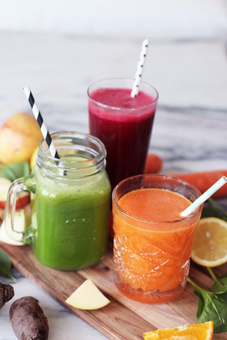 lette juiceopskrifter til januar detox wilfa juicer via acie blog