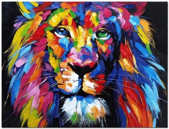 25 beste idee n over leeuw schilderij op pinterest leeuw kunst aquarel leeuw en lion - Schilderij ingang en gang ...