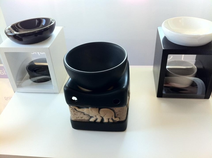 New oil burners at Daylesford Aromatherapy