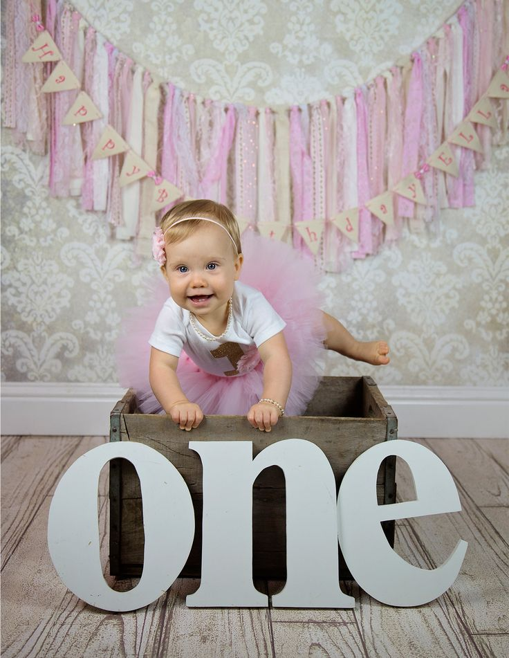 Such adorable first birthday photo shoot pictures. Her