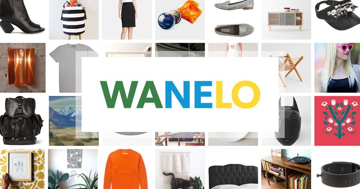 Wanelo ('wah-nee-loh', from Want, Need, Love) is an online community for all of the world's shopping.