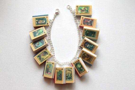 A Series of Unfortunate Events Miniature Book by LittleLiterature