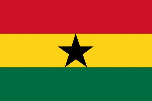 Ghana ghanaian flag 3 5 inch sticker white vinyl stickers