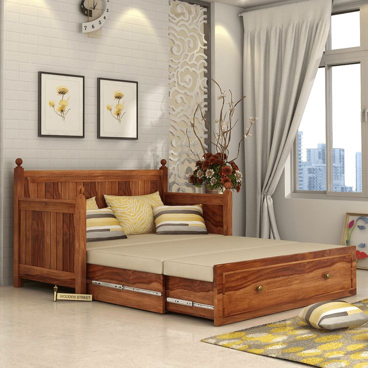 Merveilleux Get Great Deals On Gloria Sofa Bed (Teak Finish) At WoodenSpace UK. Shop  Stylish Furniture With ✓ Elegant Designs ✓ Styles And Many Finishes  ✓Limited ...