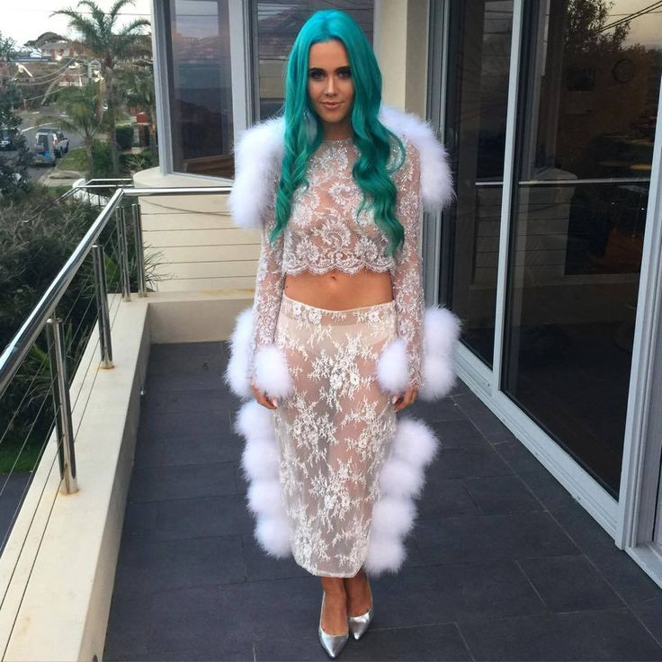 Dj Tiger Lily in our 'Gilda' Silver !