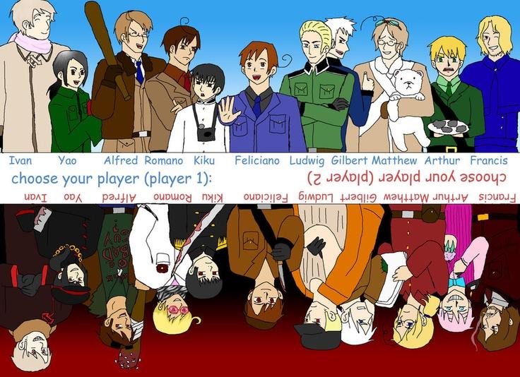 1p and 2p Hetalia, Hetalia funny, Anime