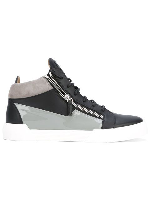 Shop Giuseppe Zanotti Design Jimbo hi-top sneakers.