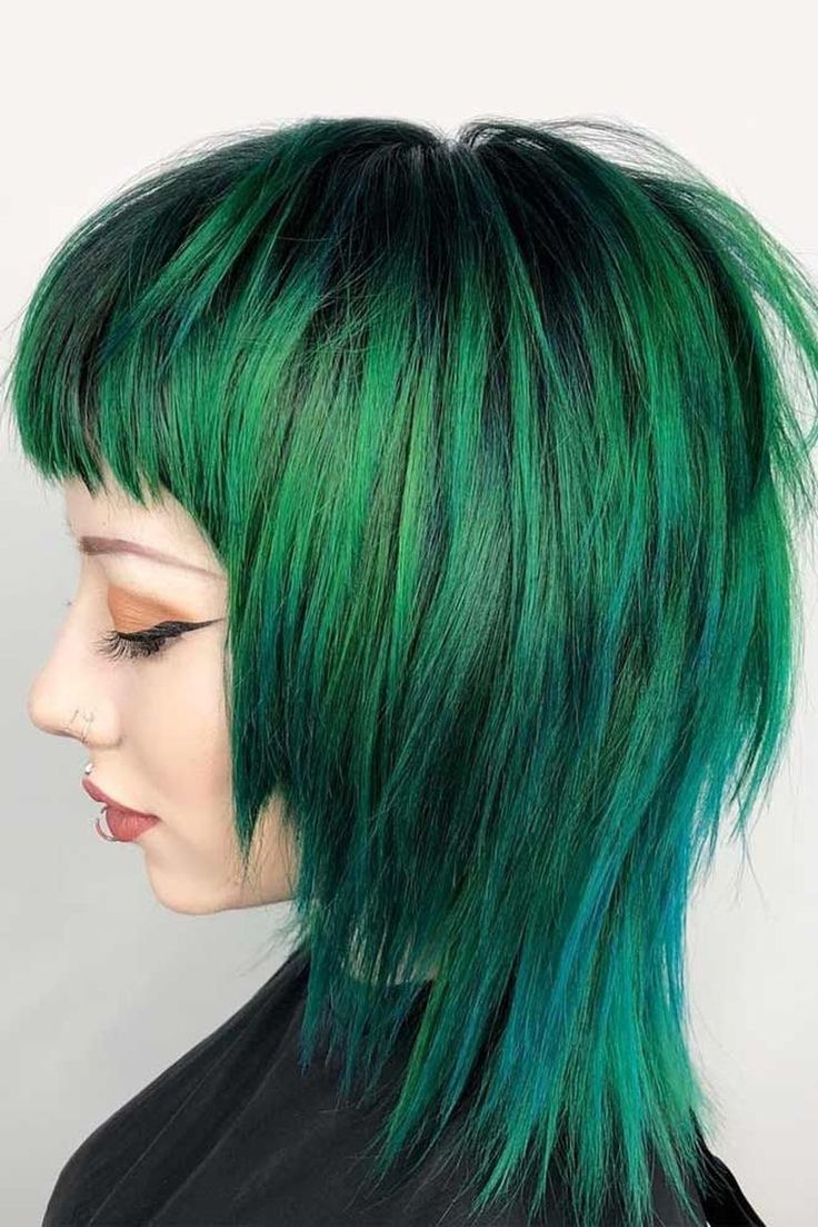 Modern Scene Hair Hair Colors In 2020 Medium Hair Styles Alternative Hair Scene Hair Tutorial