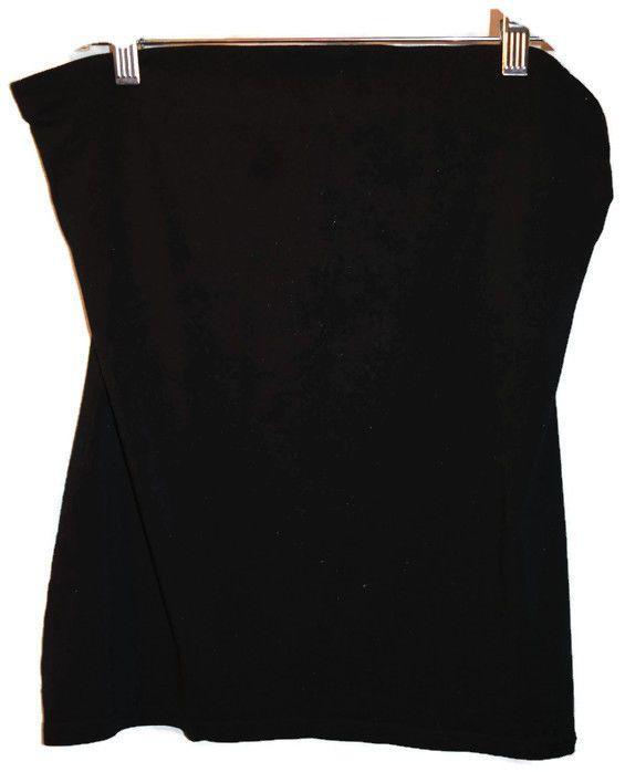 Juniors No Boundaries Size XL 15-17 Black Tube Top Strapless Shirt Pull Over #NoBoundaries #Halter #Casual
