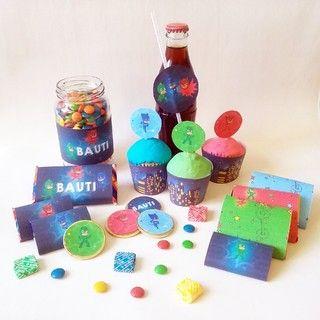Creá una fiesta genial con este kit para imprimir. Mirá todas las fotos en www.cumplekits.com