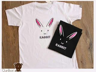 ssfashionkaos: Kaos Quin'bears - Big Rabbit Face - XL