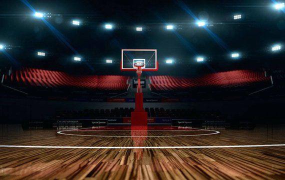 Basketball Stadium Sport Field Photography Studio Backdrop Background In 2021 Basketball Background Sports Arena Basketball Court