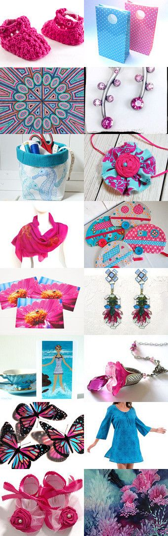 Happy Duo by Bev on Etsy--Pinned+with+TreasuryPin.com