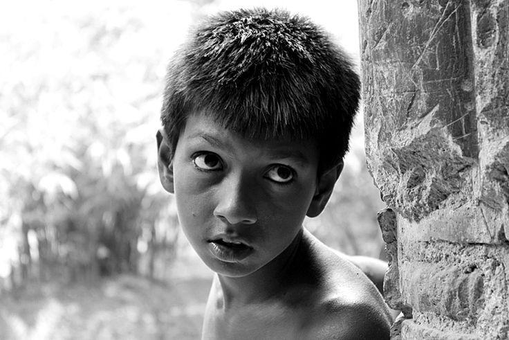 Eyes Speak a Lot. - Murshidabad, West Bengal
