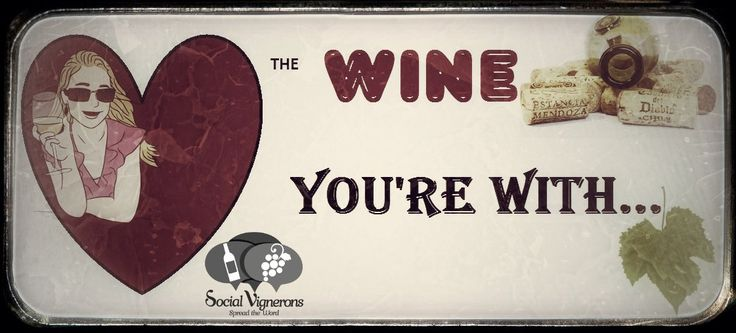 """Because all wines deserve attention… No matter the color, the body structure, the length and width of the legs, they are all living and sensitive creatures… Dry up those tears on a wine glass today… """"Love the Wine you're With…"""""""