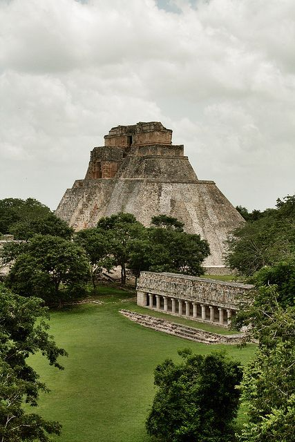 Uxmal, Mexico ( climb it on a summer camp in Mexico when I was 17.. One of the most amazing thing of my little life.. Want to go again with my Love & show him how Mexico is ! Cecile.A )