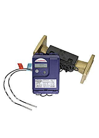 ENERGY COUNTER KIT ULTRASONIC  Il kit contatore ultrasonico di termie / frigorie è così composto:  - Volumetrica a getto multiplo ad ultrasuoni a quadrante asciutto con uscita impulsiva reed, idonea all'installazione orizzontale o verticale  - Unità di calcolo elettronica  - Coppia di sonde PT500, lunghezza cavo 1,5 m e pozzetti portasonda