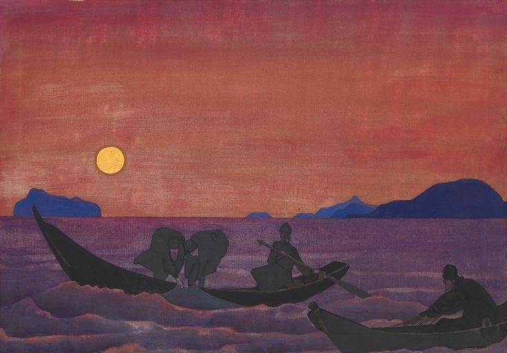 And We Continue Fishing 1922 - Nicholas Roerich