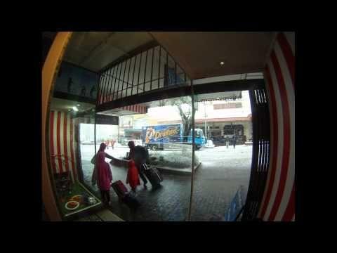 Snow in Katoomba 12/10/2012