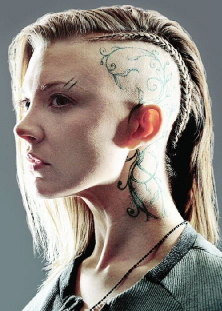 head tattoos with undercuts - Google Search