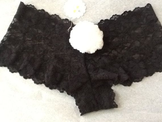 Bunny Tail Knickers Panties Pants Undies Underwear by TwoChicklets, $14.50