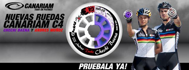 Ediciones especiales de la Chechi Baena y Andres Felipe Muñoz Campeones Mundiales!