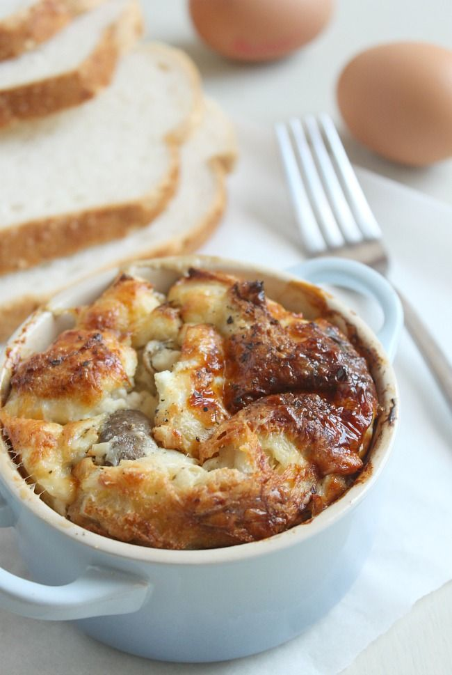 Pudding - Bread - Savory on Pinterest | Bread puddings, Savory bread ...