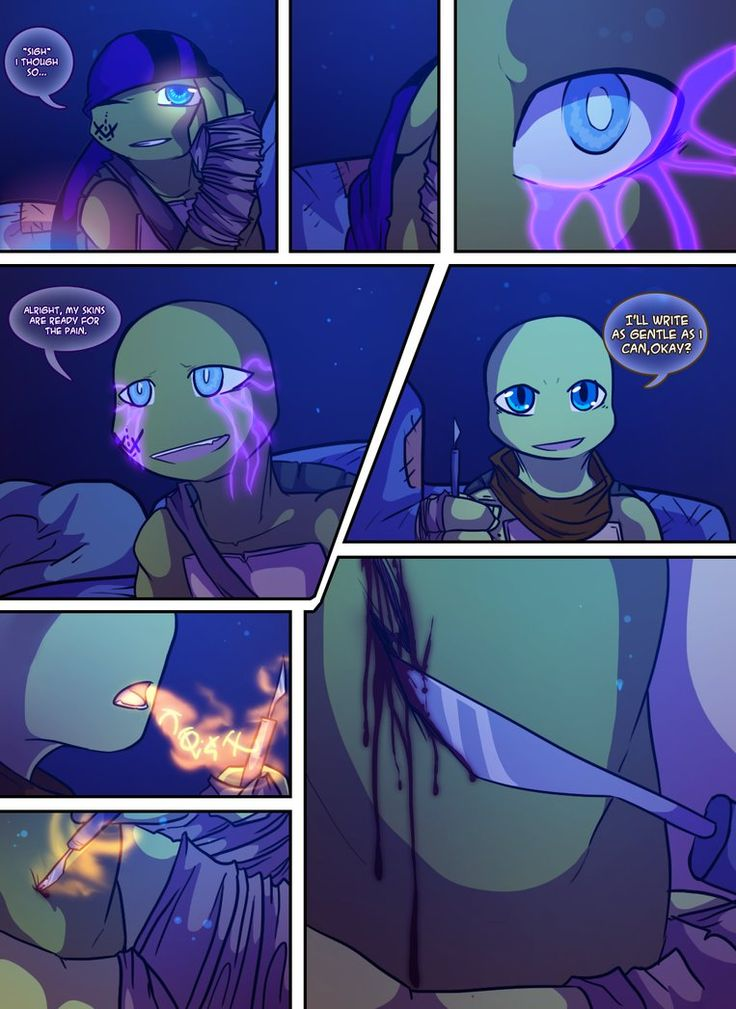 teenage mutant mages turtles page 26 by golzyblazey on