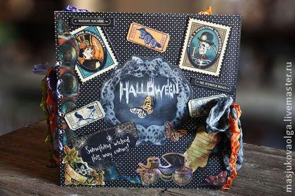 Фотоальбом на Праздник Halloween. - halloween,Хэллоуин,хеллоуин,тыква