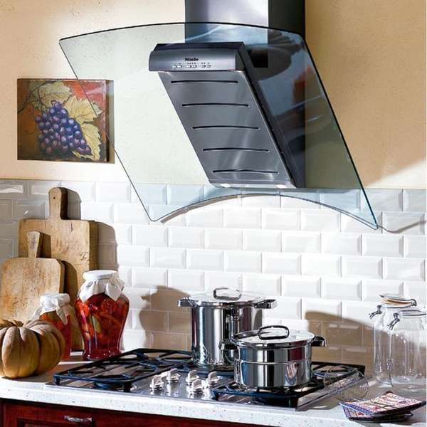 Wall-Mounted Ventilation Hoods - This Space Age Ventilation Hood is Perfect for Your Kitchen