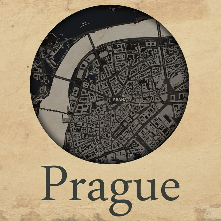 Cities edition - Praha by mapshakers.com