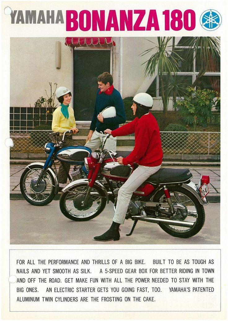 Yamaha Brochure CS1 YCS1 180 Bonanza 1967 1968 Sales Catalog Catalogue Repro | eBay