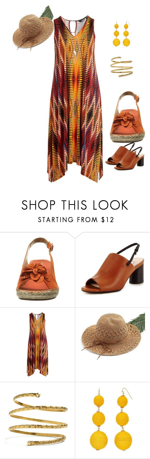 """""""Maxi Style"""" by gyhulm on Polyvore featuring Clarks, WithChic, Venus, brown, clarks and plus size dresses"""