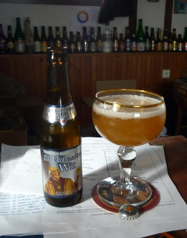 St. Bernardus Blanche -  3.58 -  www.ratebeer.com/beer/st-bernardus-blanche-witbier/12269/