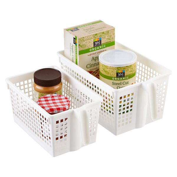 White Storage Baskets - The Container Store $3.99 - $4.99