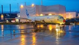 A350 Airbus First Flight Photos