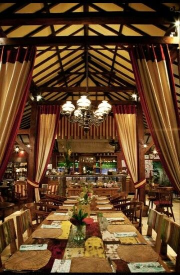One of my favorite restaurants in Bali, Biku. It's on Jalan Petitenget just past Seminyak. The restaurant serves both Western and Indonesian cuisine and the decor is cool