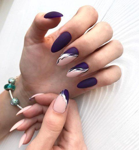 65 TOTALLY CLASSY NAIL DESIGNS TO ROCK THIS WINTER 2019 – Web page 49 of 65