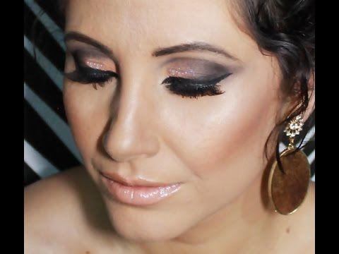 Blog Oficial de Maquiagem: Tutorial de Maquiagem: OLHOS MARCANTES E BOCA NUDE...