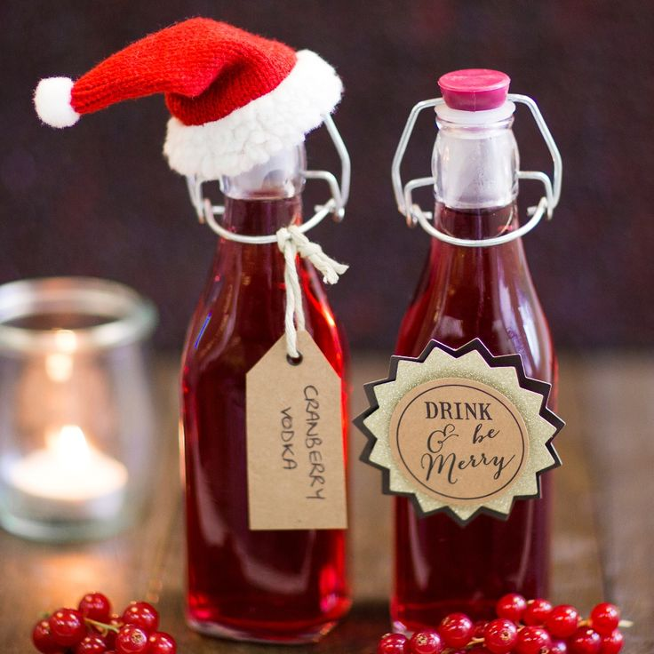 Wow your friends with this fabulously easy Cranberry Vodka Recipe. The perfect festive party drink, it makes a delicious gift to give too.