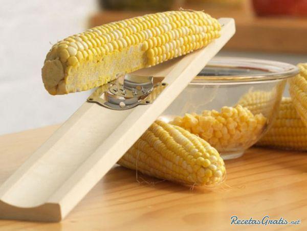 Receta de Pastel de elote casero - Fácil - 6 pasos