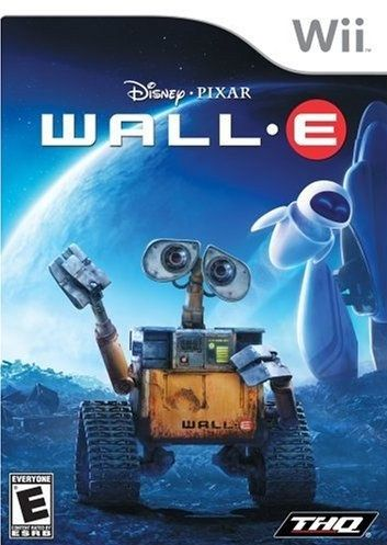 WALL•E Video Game Cover Updated - Upcoming Pixar