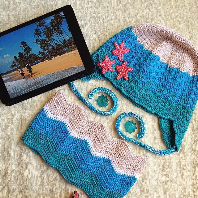 Crochet hat , детская шапочка крючком