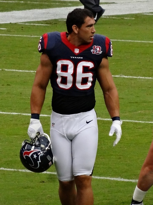James Casey  Houston Texans.from azle,tx i went to school with him